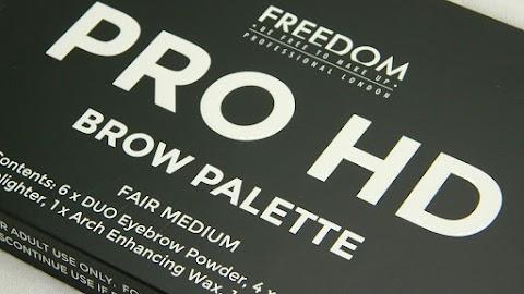 RECENZIJA: FREEDOM PRO HD BROW PALETTE