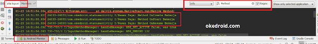 yaitu sebuah class yang memungkinkan kalian  Tips Cara Membuat Log Coding di Android Studio