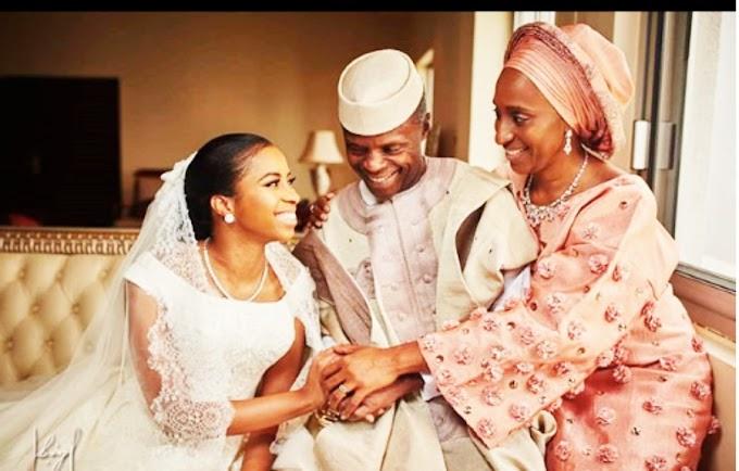 Photos: Daughter of Nigerian Vice President Yemi Osinbajo marries in Abuja