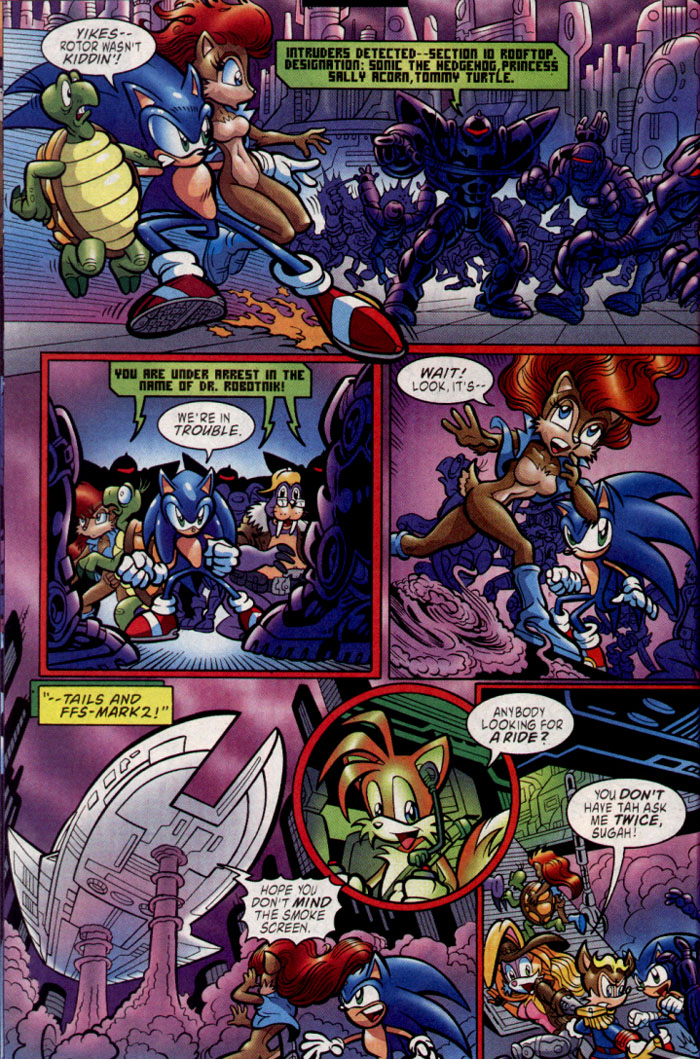 Read online Sonic The Hedgehog comic -  Issue #137 - 12