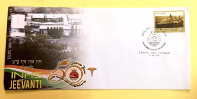 Special Cover on 50 Years of INS Jeevanti