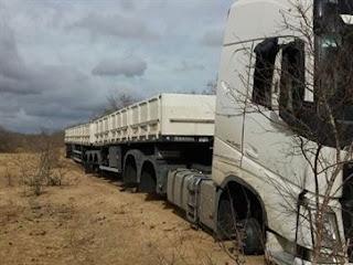 Após ser feito refém em Soledade caminhoneiro sofre prejuízo de R$ 82 mil