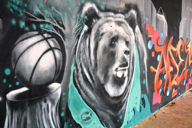 Graffiti St. Julians bear