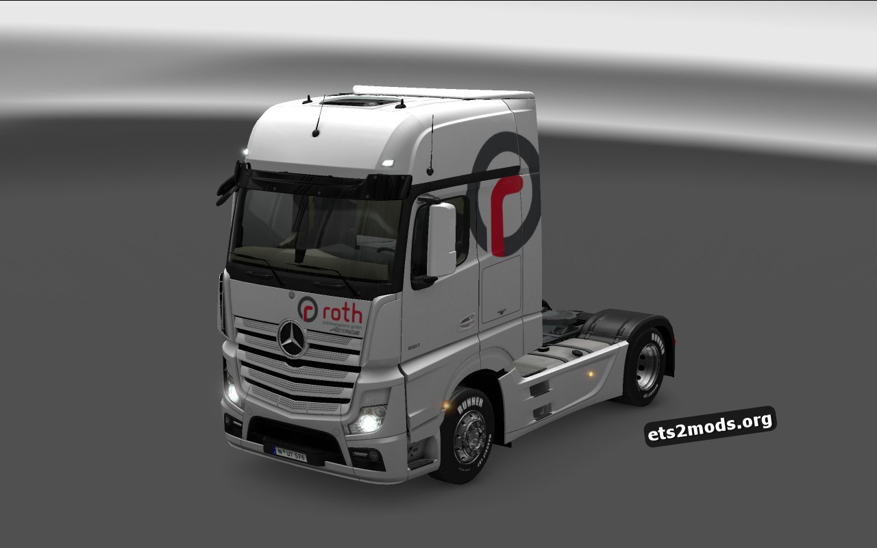 Combo Pack Roth Skin for Mercedes Benz MP4