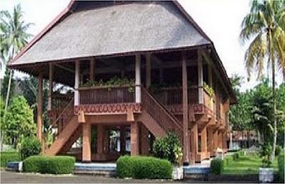 Rumah Adat Pewaris , Rumah Adat Sulawesi Utara