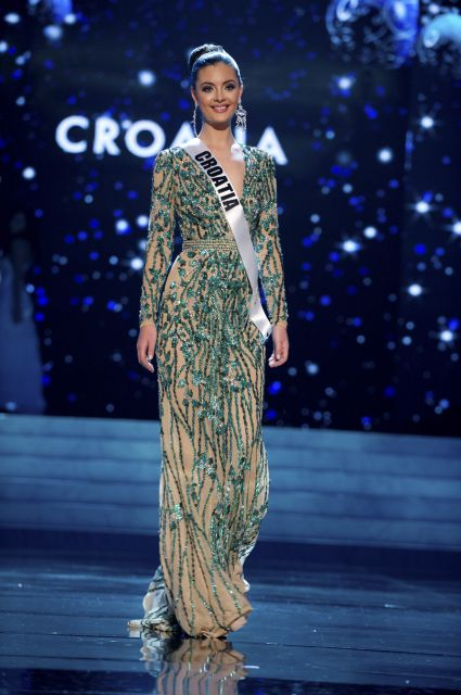 cf5fd758dc6e Miss Croatia Elizabeta Burg: I loved this gown when they published the