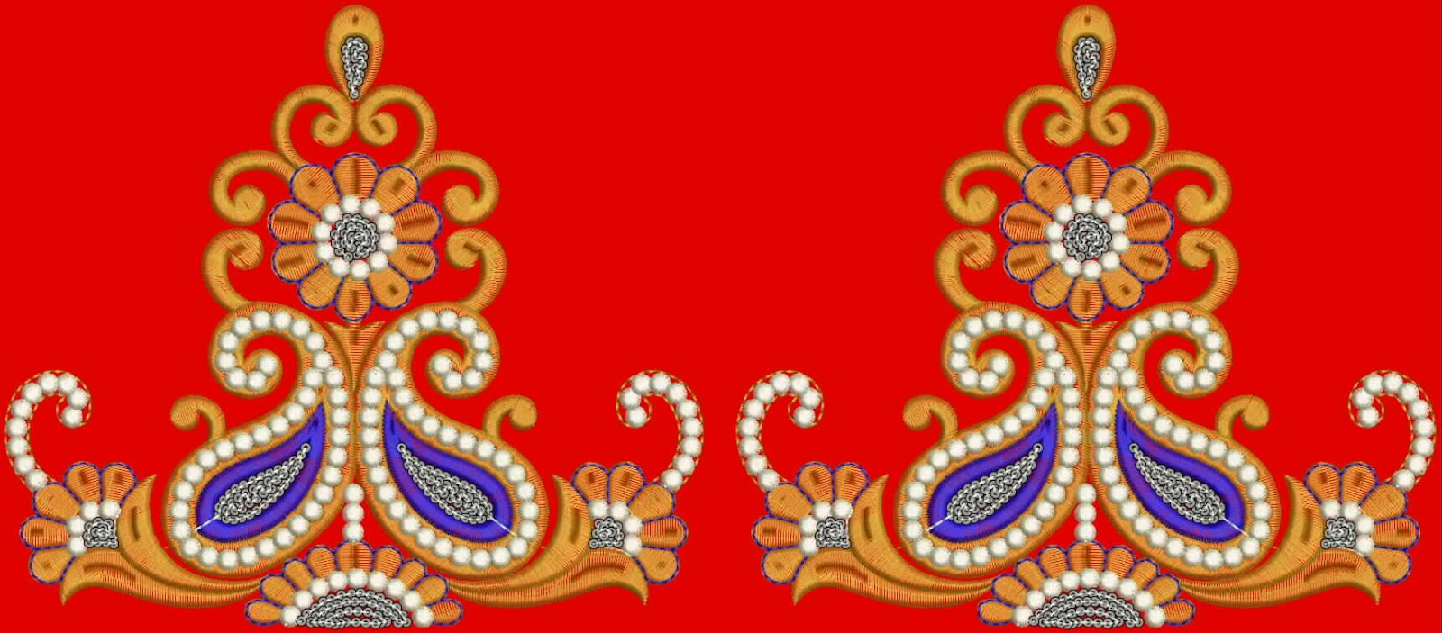 Embdesigntube Indian Traditional Laces Designs
