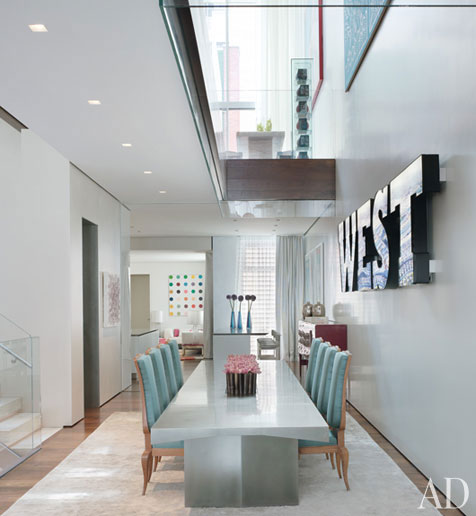 New Home Designs Latest October 2011: New Home Interior Design: Donny Deutsch's Modern New York