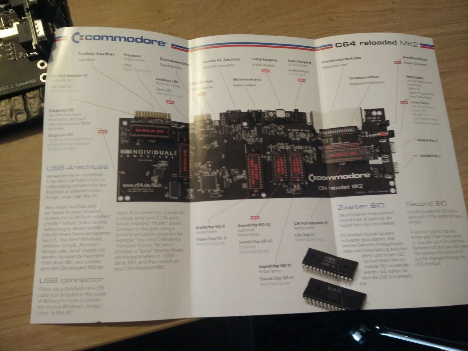 DevDef: C64 Reloaded MK2 review and build