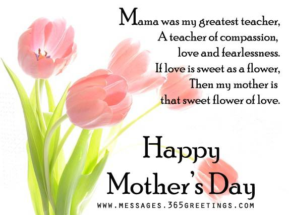 mothers day messages 2016