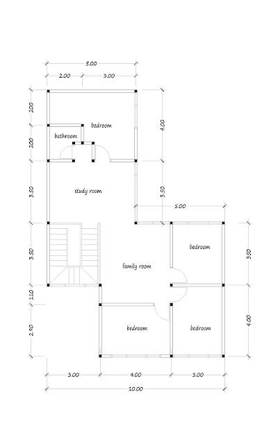Floor plan of 200 square meters-04