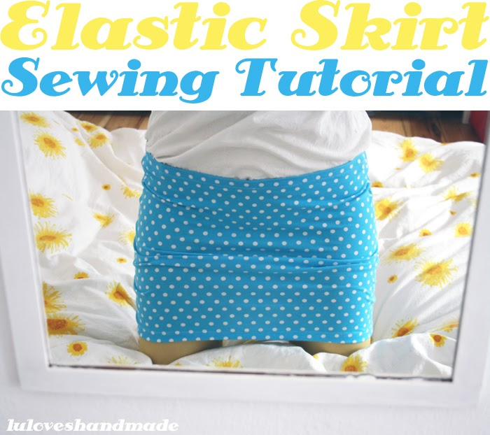 How To Make An Easy Skirt 6