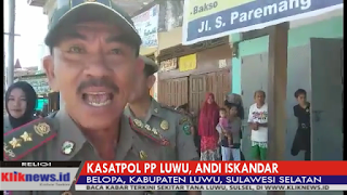 VIDEO: Kasatpol PP Luwu Ngamuk di Rumah Makan