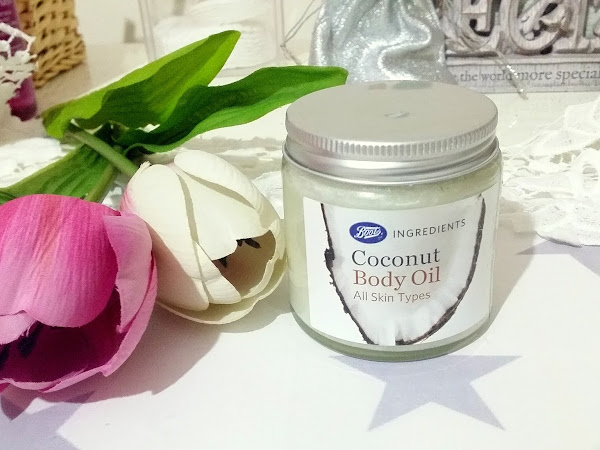 Boots Ingredients Coconut Body Oil