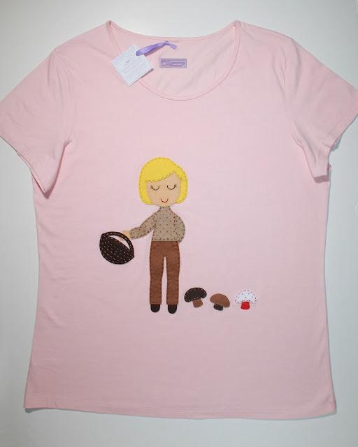 camiseta personalizada cocoleta setas