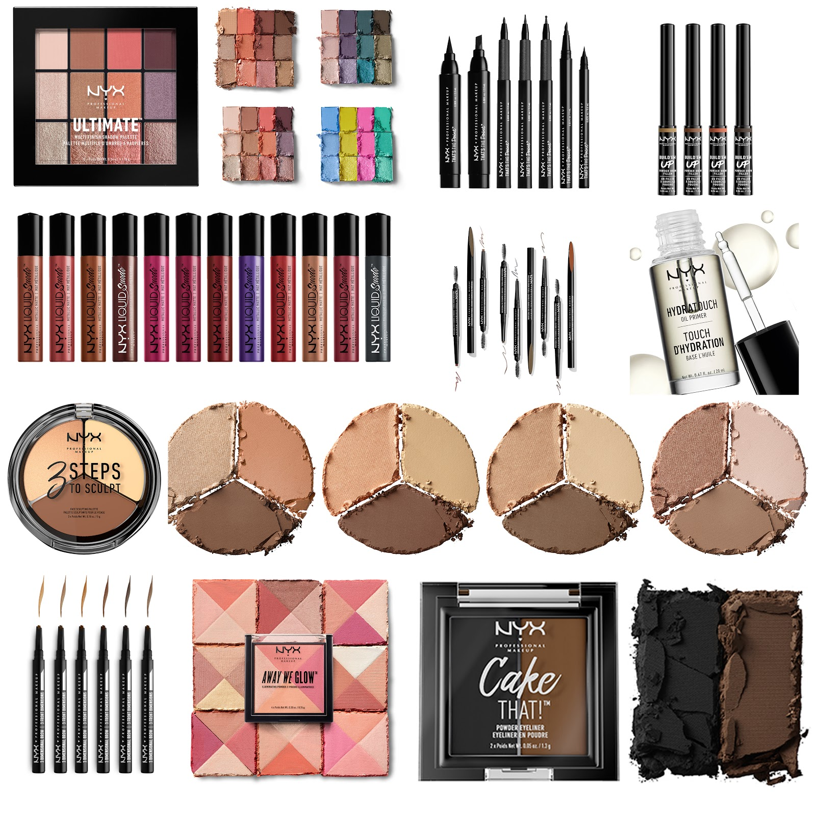 new products NYX professional makeup fall 2017