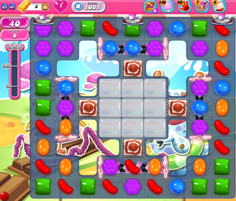 Candy Crush Saga 1081