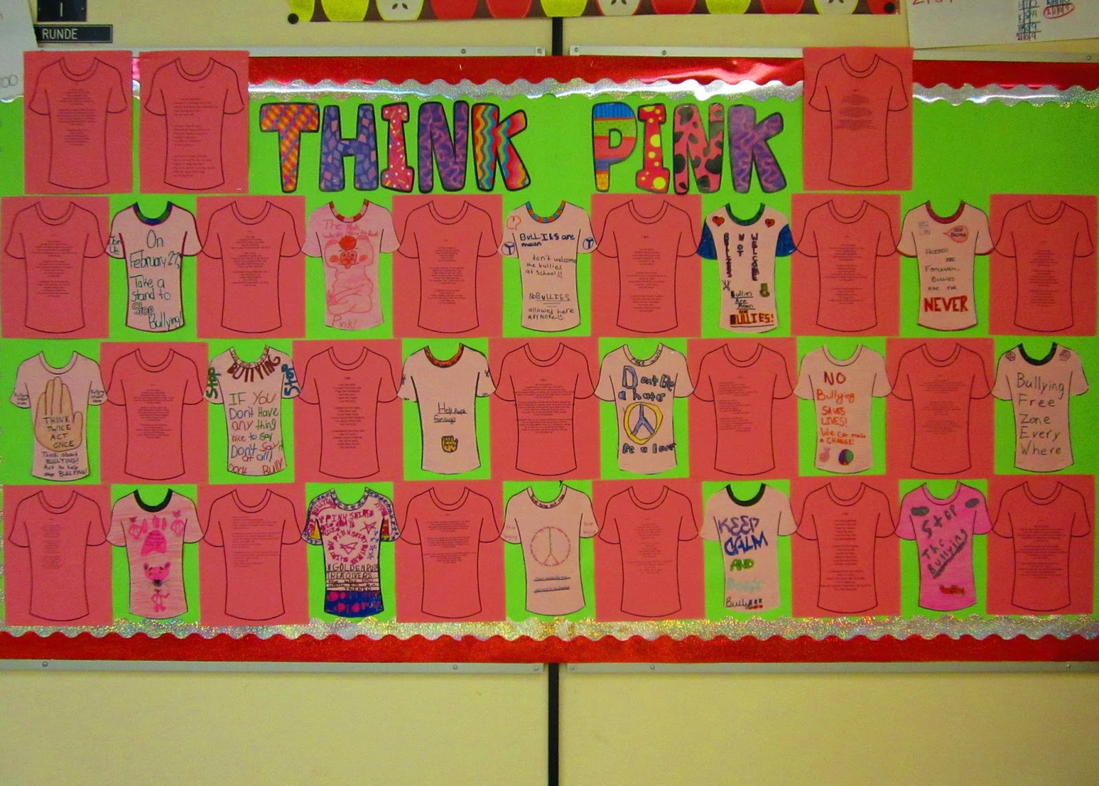 Runde S Room Think Pink National Pink Shirt Day