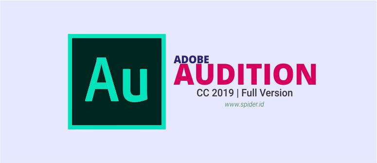 Adobe Audition CC 2019 Full Version