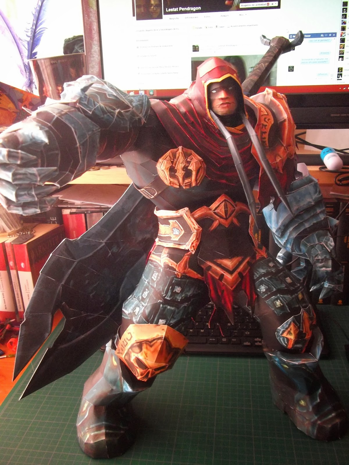Darksiders War Paper Model