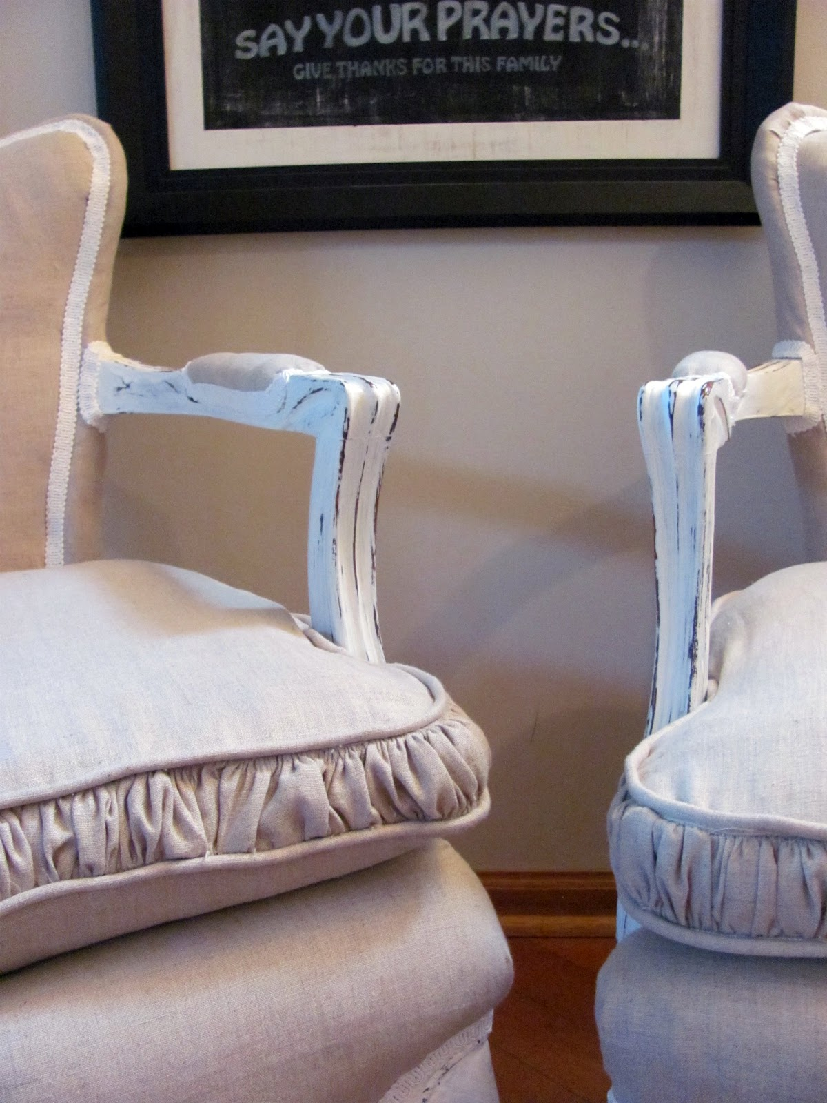 Fabulous Header Linen Chair Love Machost Co Dining Chair Design Ideas Machostcouk