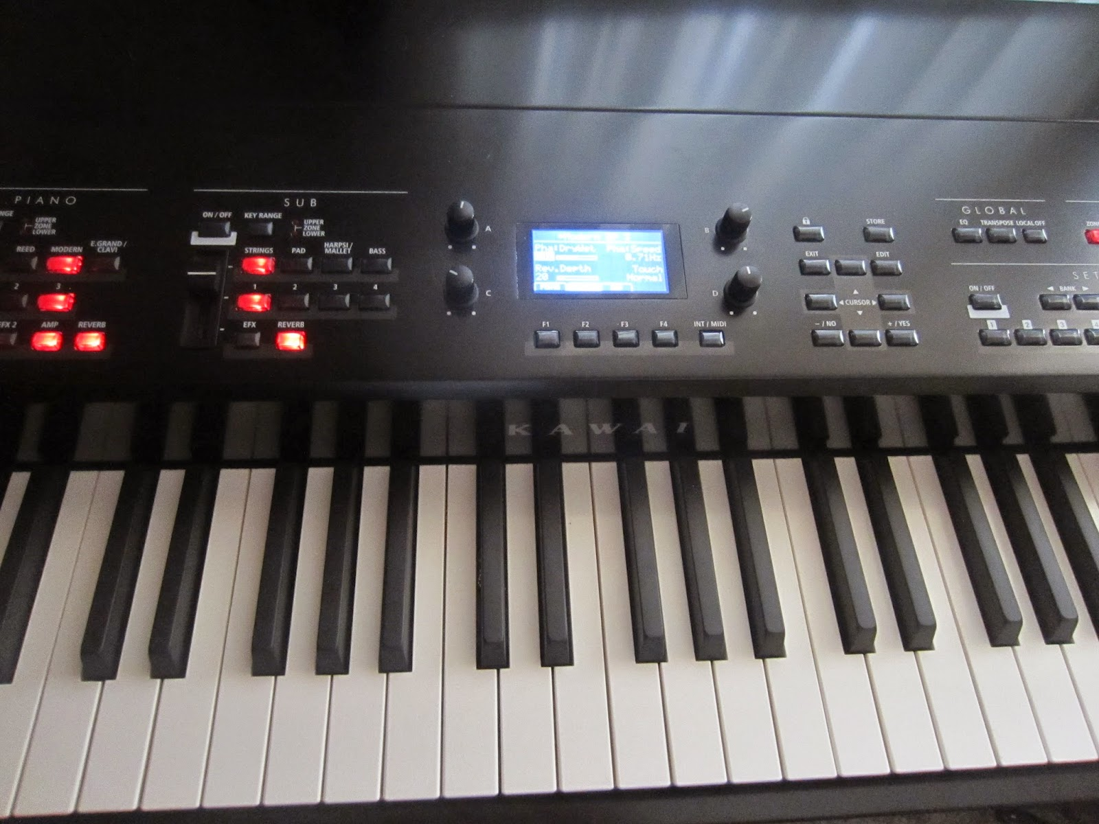 Kawai MP11 digital piano