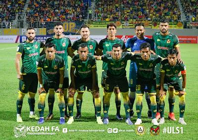 Senarai Penuh Pemain Kedah FA 2019