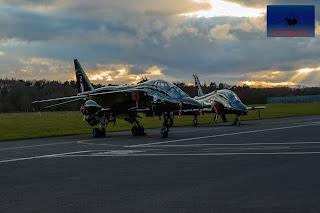 SEPECAT Jaguar XX837 bomber ground attack BAE Hawk T mk1 XX335 Cosford