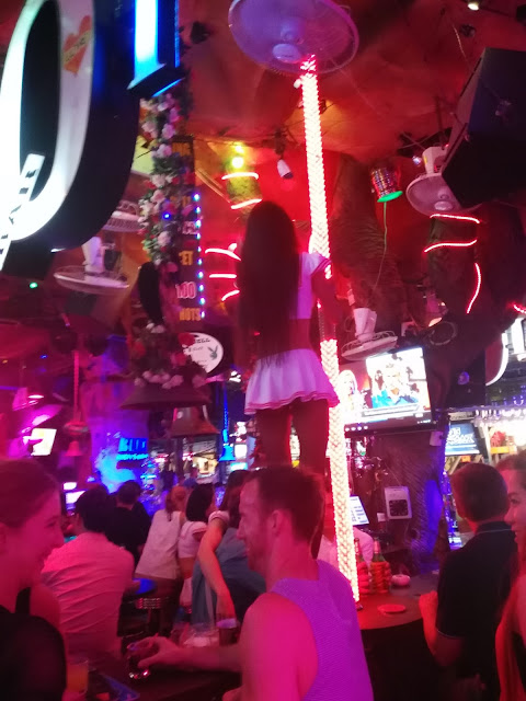 Pole Dancers in a Tiger Bar in Phuket