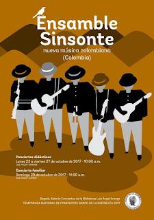 Temporada de conciertos de Ensamble Sinsonte