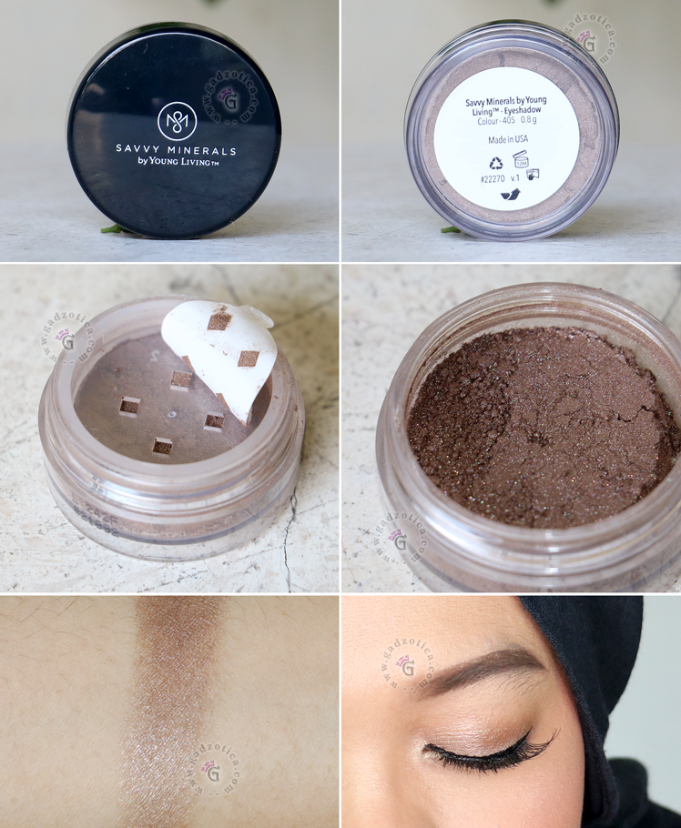 Savvy Minerals Eyeshadow Review