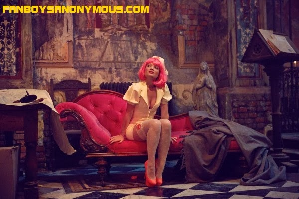 French actress Melanie Thierry stars in Monty Python member Terry Gilliam's The Zero Theorem sci-fi fantasy drama