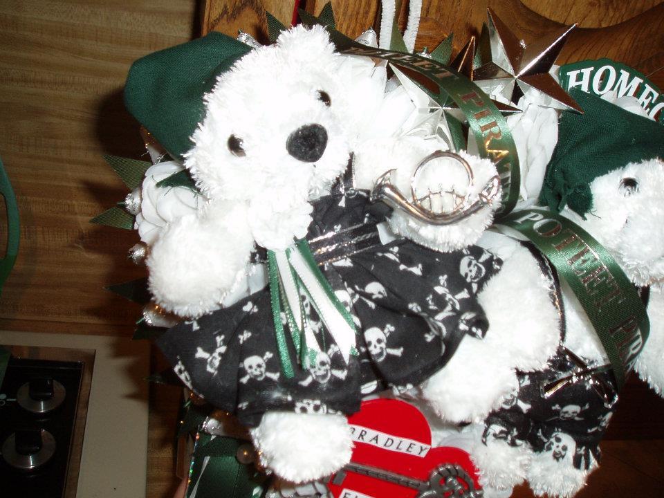 Christmas Homecoming Mum.The Domestic Curator Traditional Texas Homecoming Mums