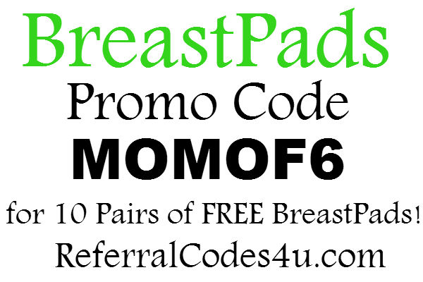 BreastPads.com Promo Code 2017, BreastPads Coupon FREE: April, May, June, July, August