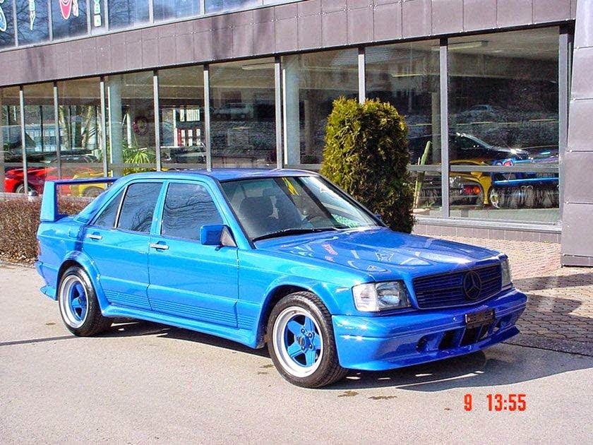 mercedes 190e v8 5 0 schulz widebody benztuning. Black Bedroom Furniture Sets. Home Design Ideas