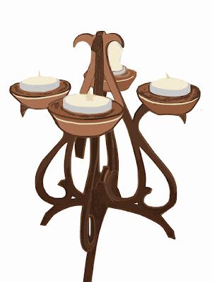 foto-candelabro-in-legno-a-ceri-fai-da-te