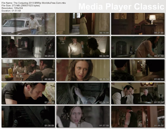 The Conjuring 2013 BrRip 480P ScreenShots