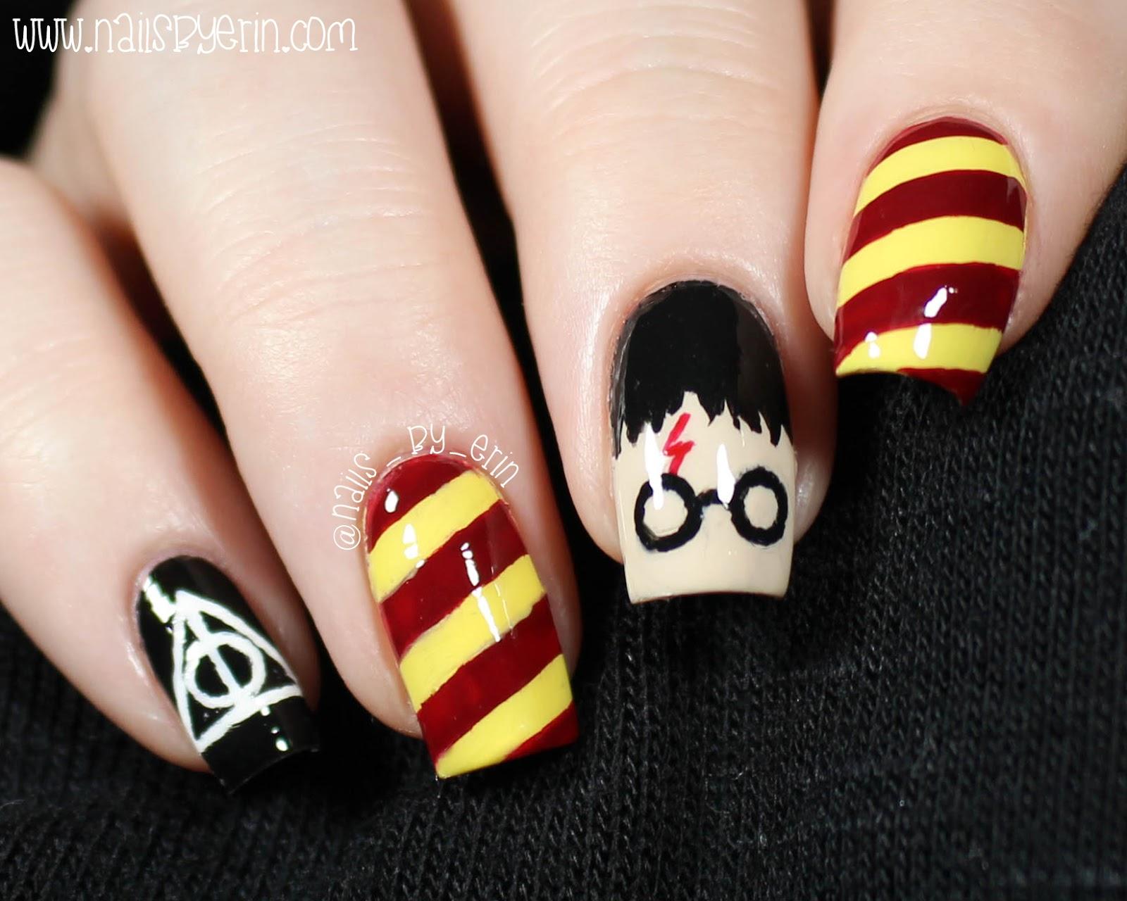 Nailsbyerin Harry Potter Nails Nailsbyerin