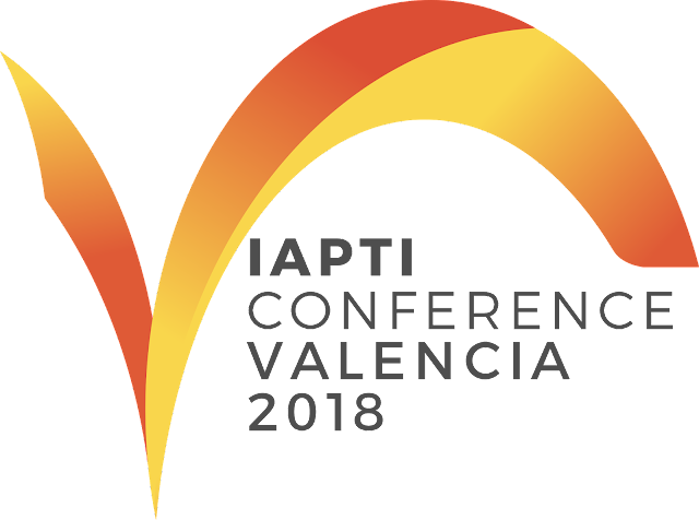 IAPTI 2018 conference logo and link