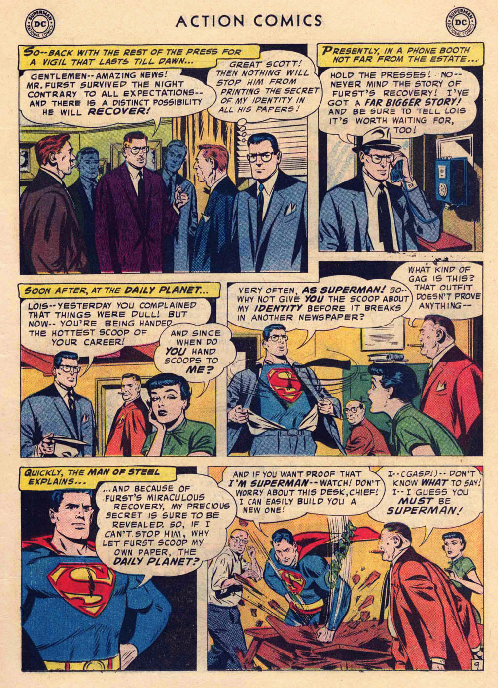 Read online Action Comics (1938) comic -  Issue #237 - 11