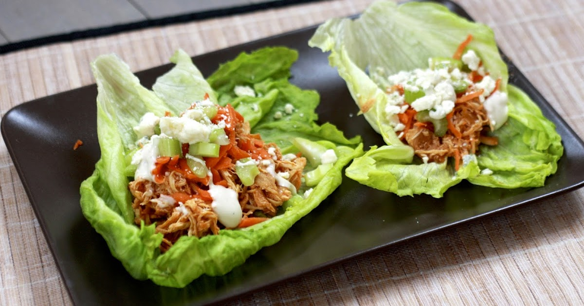 Sweet Dimensions: Buffalo Chicken Lettuce Wraps: 5 Minute Dinners