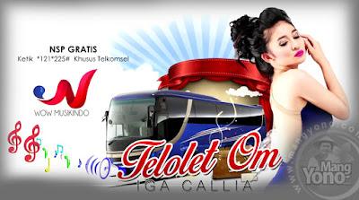 MP3 dan Lirik Lagu TELOLET OM - Iga Callia