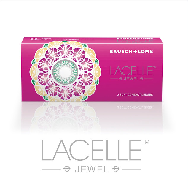 My first contact lens - Bausch + Lomb Lacelle Jewel