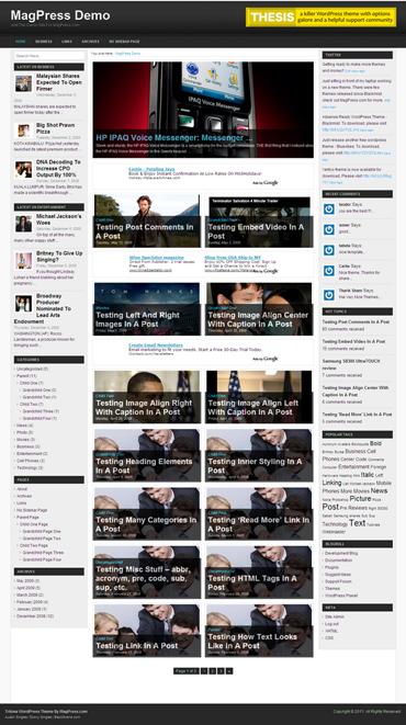 Tritone Free WordPress Theme