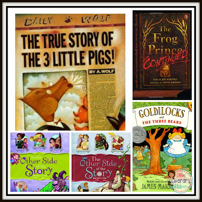 One way to bring children's stories into your secondary student is to examine examples of fractured fairy tales and then write their own retelling of a classic fairy tale or other well known story from an alternate point of view.