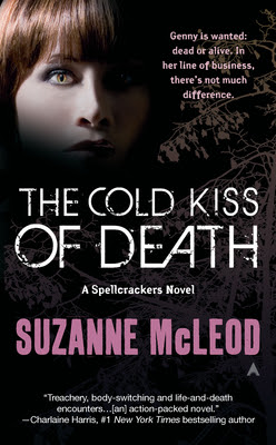 Review - The Cold Kiss of Death by Suzanne McLeod - 4 1/2 Qwills