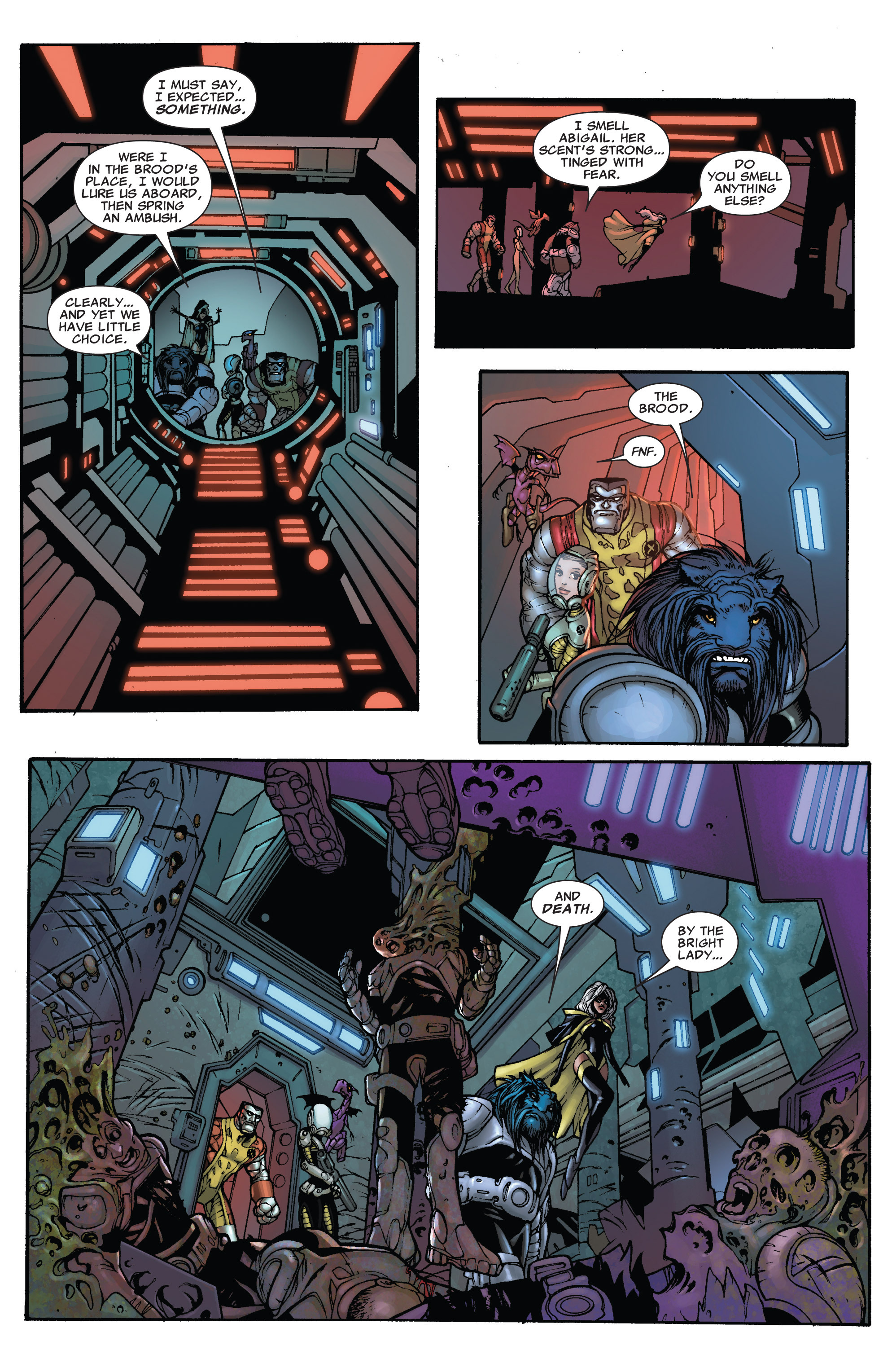 Read online Astonishing X-Men (2004) comic -  Issue #38 - 14