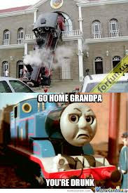 thomas the tank engine and steam locomotive epic fail funny