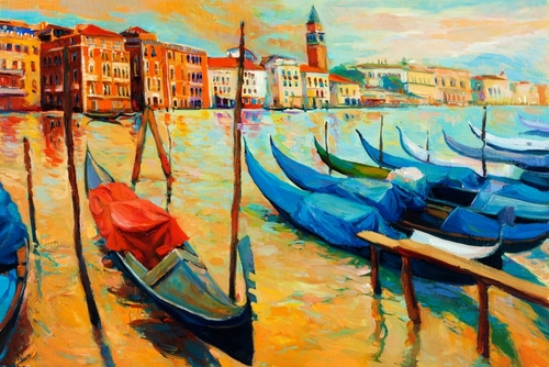 19-Ivailo Nikolovhas-Bright-Paintings-Modern-Impressionism-www-designstack-co
