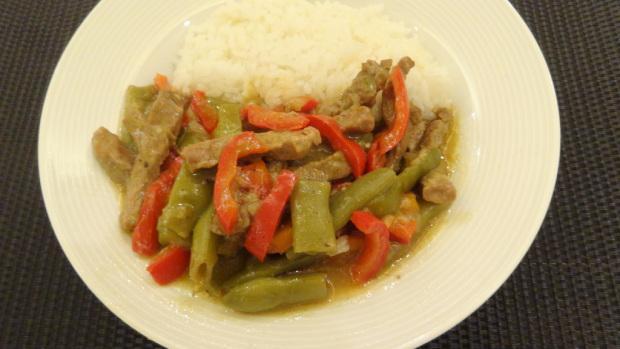 Steak with Vegetables Stew